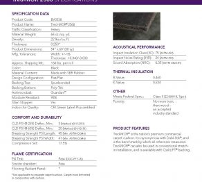 Carpet Pads:Tred Mor 2568 – 68 oz