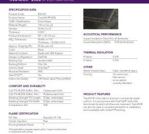Carpet Pads:Tred Mor 2500 -100 oz