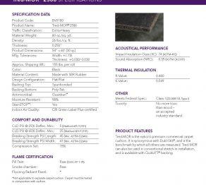 Carpet Pads:Tred Mor 2580 – 80 oz