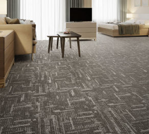 Hard Surface:Style: Dash – In Stock Guest Room Carpet