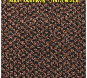 Hospitality Carpet:Gateway Terra Black